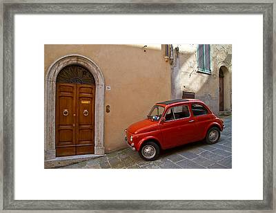 An Italian Classic Framed Print by Roger Mullenhour
