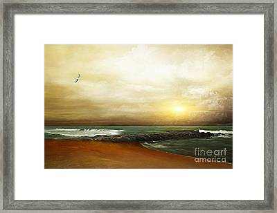 An Ocean Breeze Framed Print