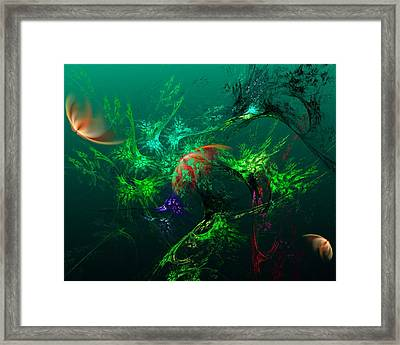 An Octopus's Garden Framed Print