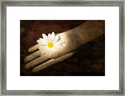 An Offering Framed Print by Jeff  Gettis