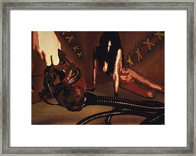An Offering To A Withering Soul Framed Print