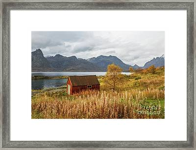 An Old Boathouse Framed Print