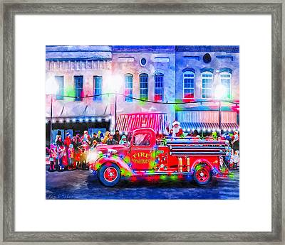 An Old Fashioned Christmas Framed Print by Mark Tisdale