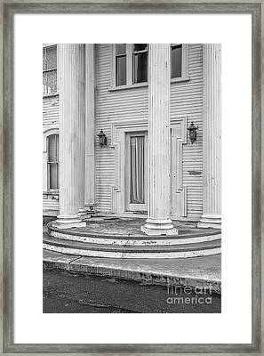Framed Print featuring the photograph An Old Mansion In Decay Dennis Ma by Edward Fielding