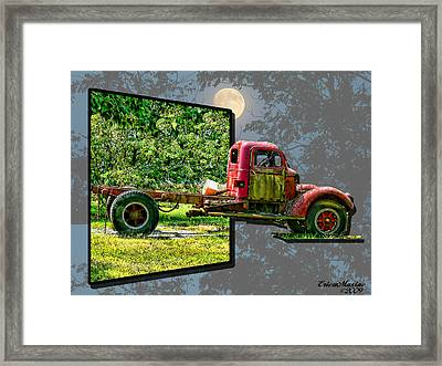 An Old Relic Framed Print by EricaMaxine  Price