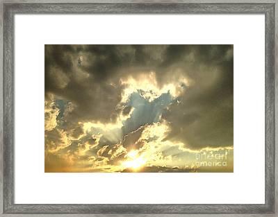Vision Of Love Framed Print by Krissy Katsimbras