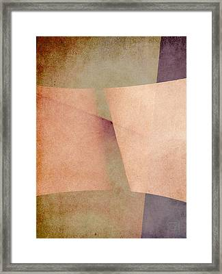Framed Print featuring the digital art An Open Invitation by Jean Moore