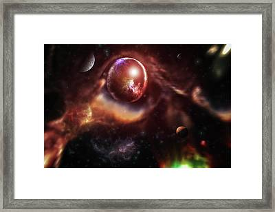 An Other Universe Framed Print