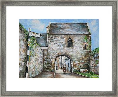 An Tholsel Framed Print by Marty Garland