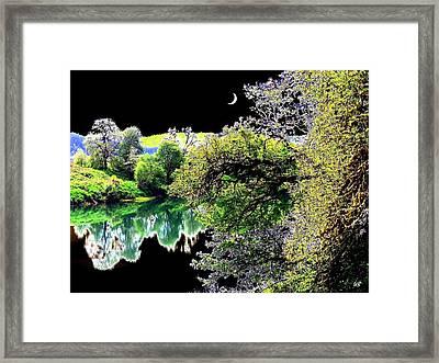 An Umpqua Night Framed Print by Will Borden