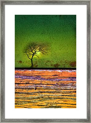 An Urban Sundown Framed Print by Tara Turner