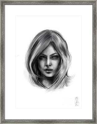 Ana Beth Framed Print by Gabriela Tasiro