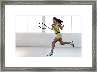 Ana Ivanovic 13 Framed Print by F S