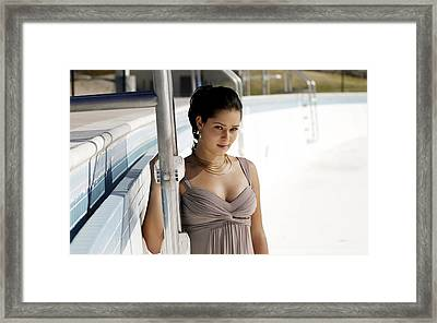 Ana Ivanovic 9 Framed Print by F S