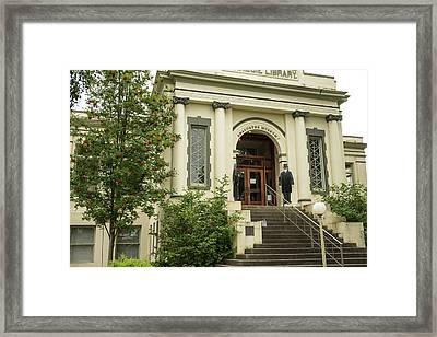 Anacortes Museum Framed Print