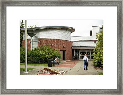 Anacortes Public Library Framed Print