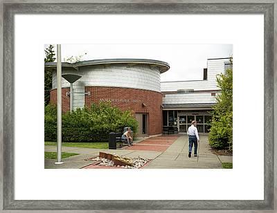 Anacortes Public Library Framed Print