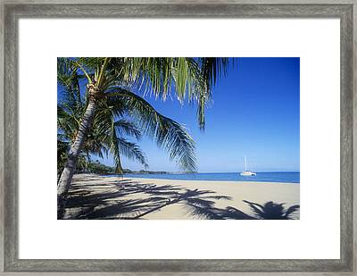 Anaehoomalu Bay Framed Print by Greg Vaughn - Printscapes