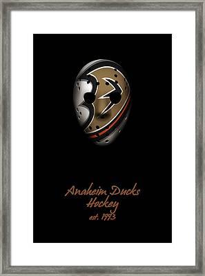 Anaheim Ducks Established Framed Print