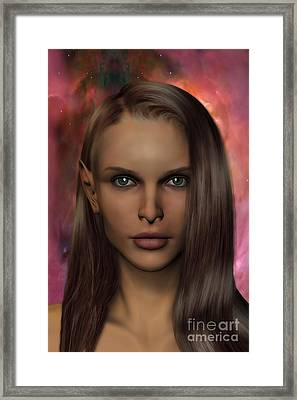 Anaire Child Of Iluvatar Framed Print by John Edwards