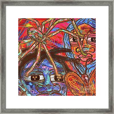 Anansi's Web Framed Print