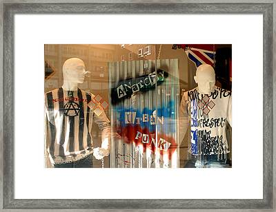 Anarchy In The Uk Framed Print by Jez C Self