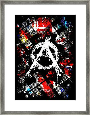 Anarchy Punk Framed Print