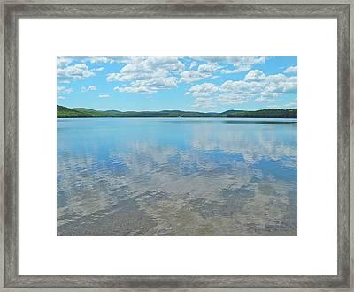 Anasagunticook Lake, Canton, Me, Usa 10 Framed Print