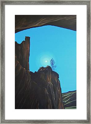 Anasazi Dreams Framed Print