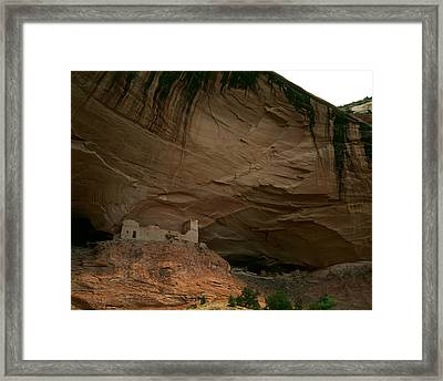 Anasazi Indian Ruin Framed Print