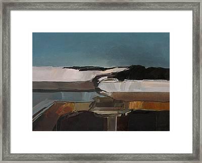 Anasazi Winter Framed Print by Curtis Chapline