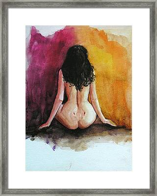 Anastasia Framed Print by Anna Wigandt