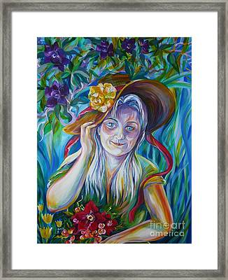 Anastassia Framed Print
