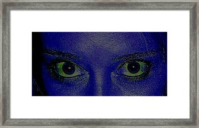 Anatomy Of The Eyes Framed Print by Debbie May