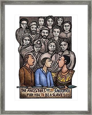 Ancestors Framed Print