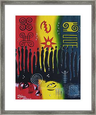 Ancestral Connection Framed Print by Don MacCarthy