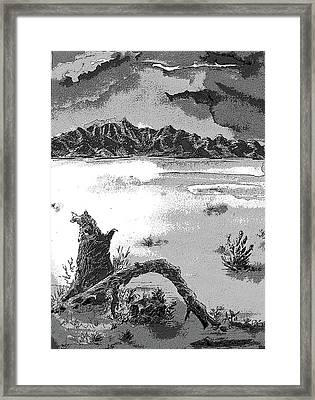 Ancestral Home Framed Print by AnDe Herbert