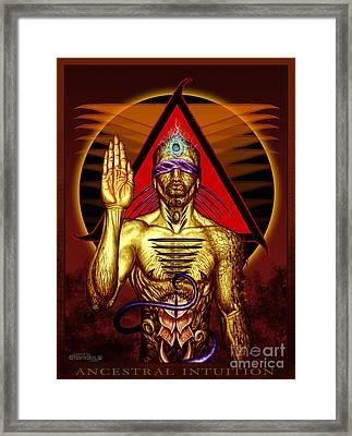 Ancestral Intuition Framed Print