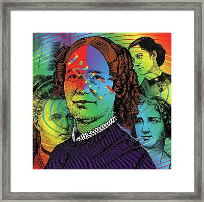 Ancestral Memory Framed Print