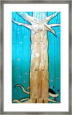 Ancestral Tree Indians To The Sea Framed Print
