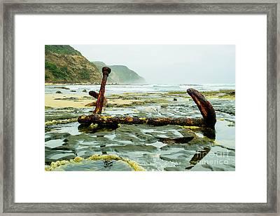 Anchor At Rest Framed Print