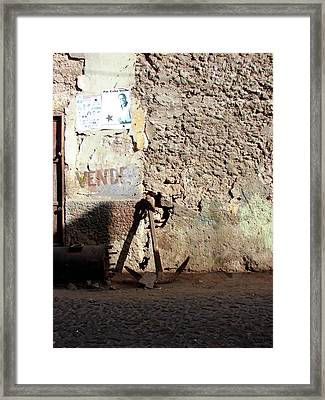 Anchor Cape Verde Framed Print