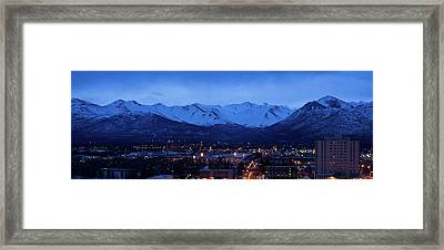 Anchorage At Sunrise Framed Print