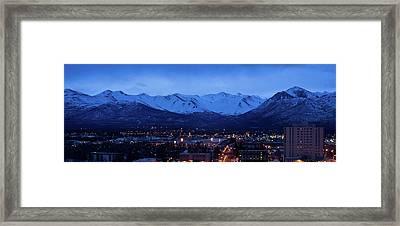 Anchorage At Sunrise Framed Print