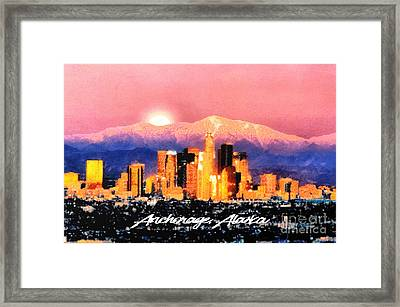 Anchorage - Bright-named Framed Print