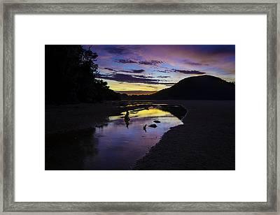 Anchorage Dream Framed Print