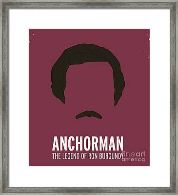 Anchorman Framed Print