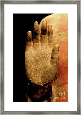 Ancient Blessing Framed Print by Glennis Siverson