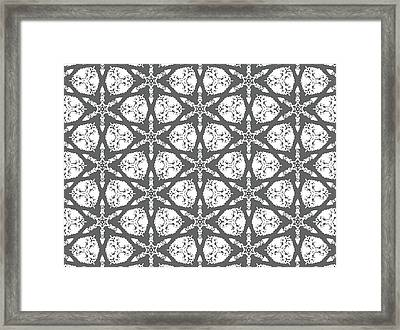 Ancient Carving Framed Print