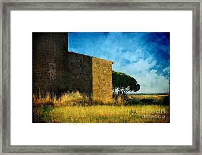 Ancient Church - Italy Framed Print